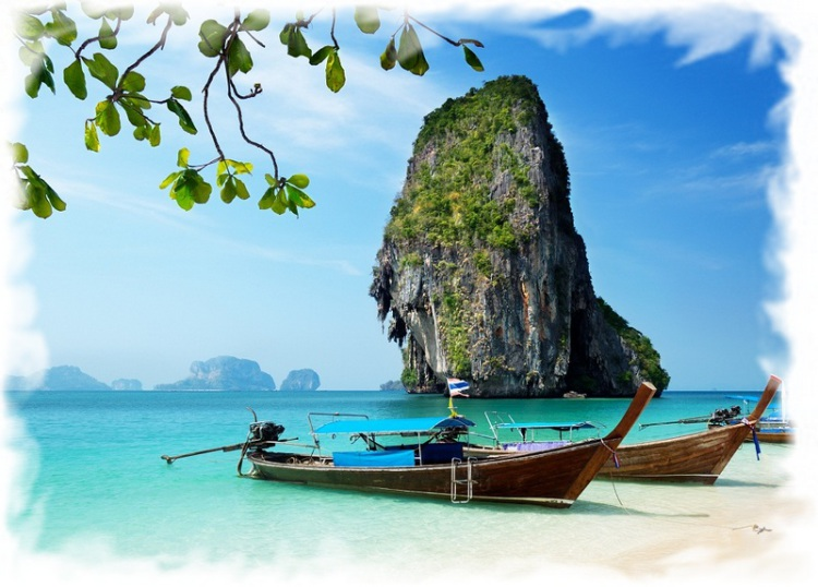 Полуостров Рейли - пляж Прананг (Phra Nang)
