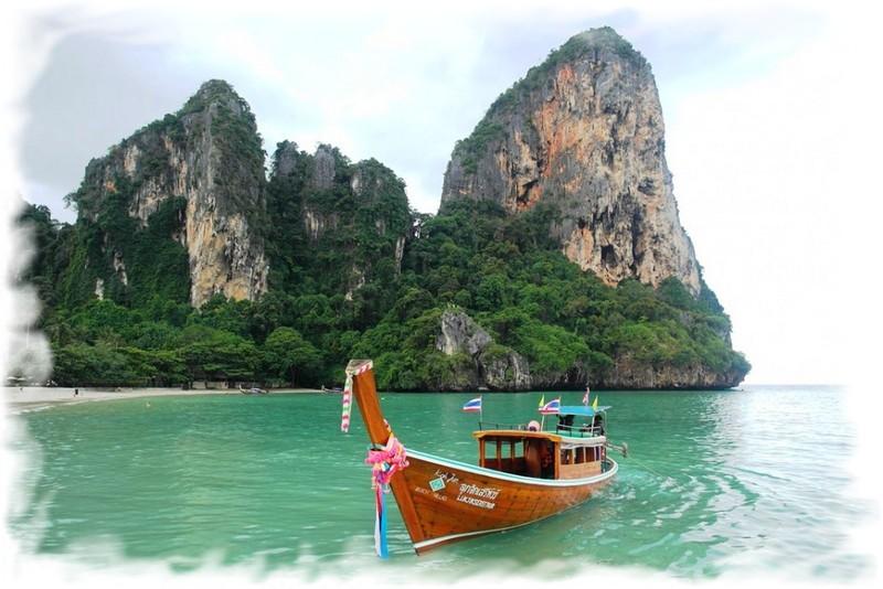 лодки на рейли краби
