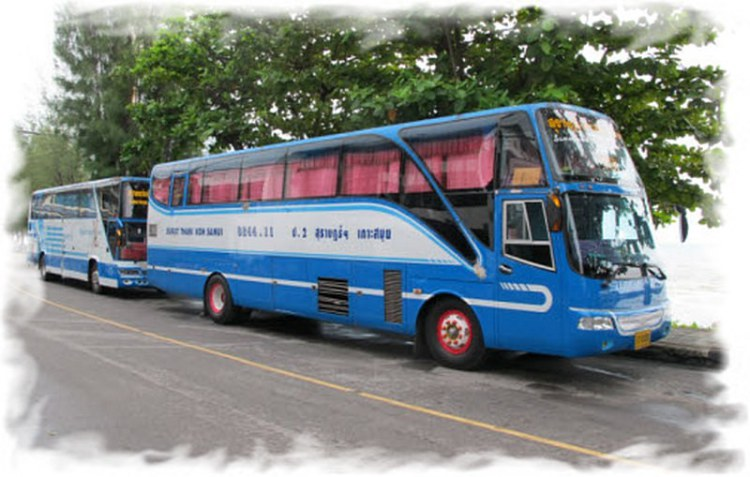 Самуи - Краби как добраться на автобусе