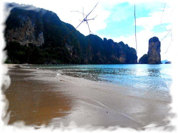 Обзор пляжа Pai Plong в Ао Нанге (пляж отеля Centara)