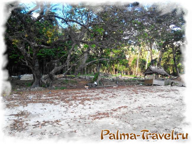 Пляж Тонсай на полуострове Рейли - последствия цунами
