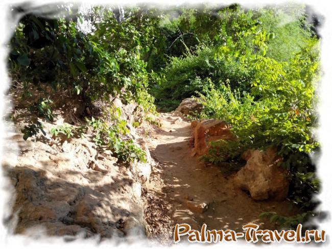 Тропа между пляжами Тонсай и Западный Рейли