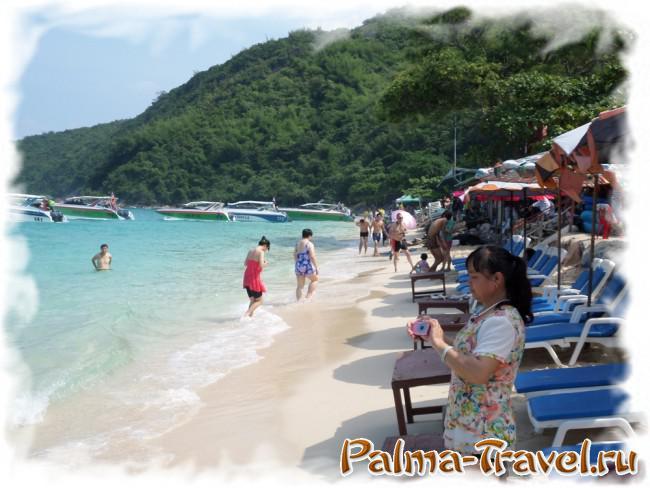 Пляж Тонглак - вид на дальнюю  часть