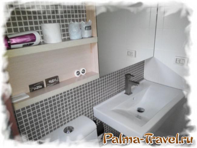 At Mind Executive Suites -  сантехника и фирменные туалетные принадлежности