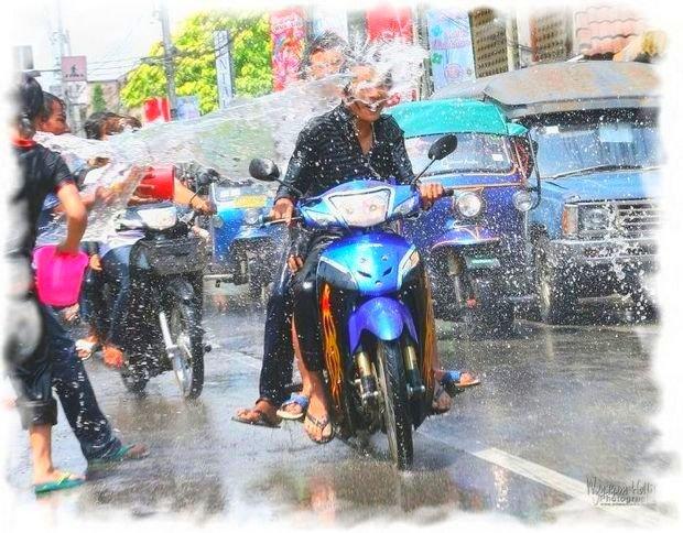 Сонгкран в Таиланде - опасная неделя