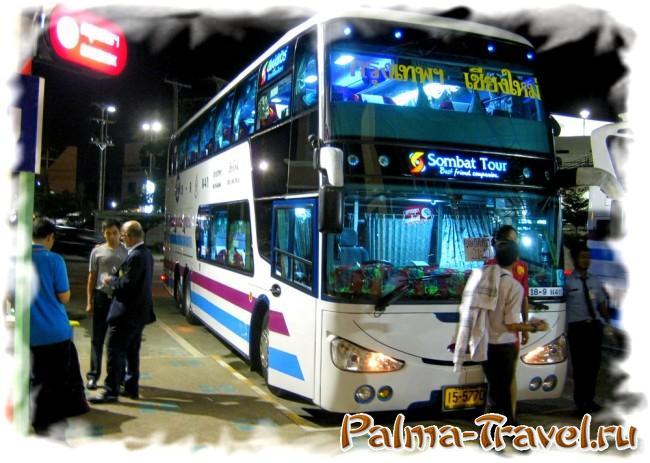 Как добраться в Чианграй из Бангкока на автобусе