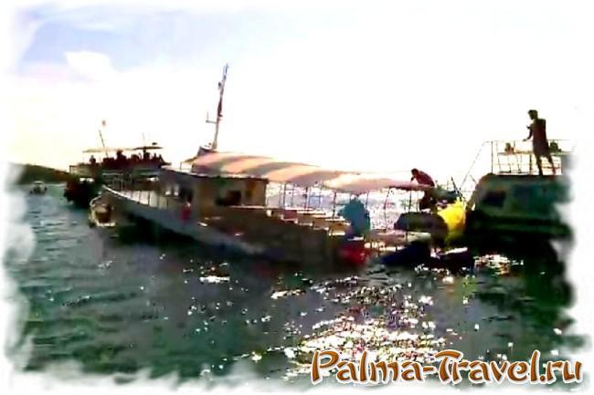 Паром затонул у острова Ко Лан в Пататйе