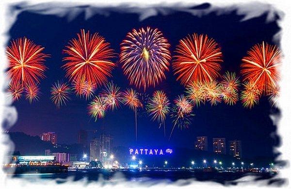 Фестиваль фейерверков в Пататйе 3