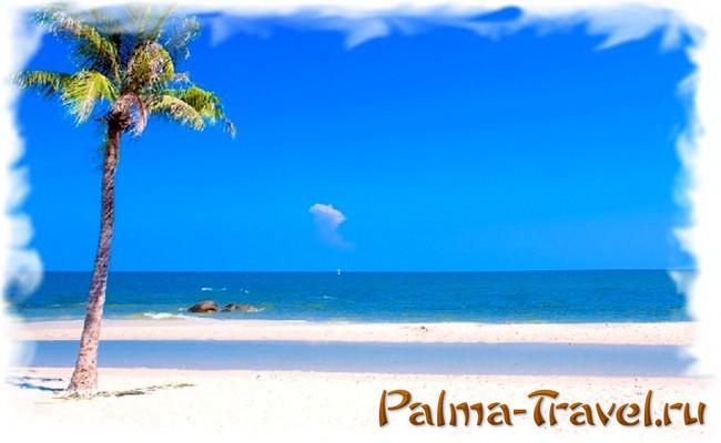 Море в Ча Ам (Таиланд) - отличные пляжи, но почти всегда ветерок