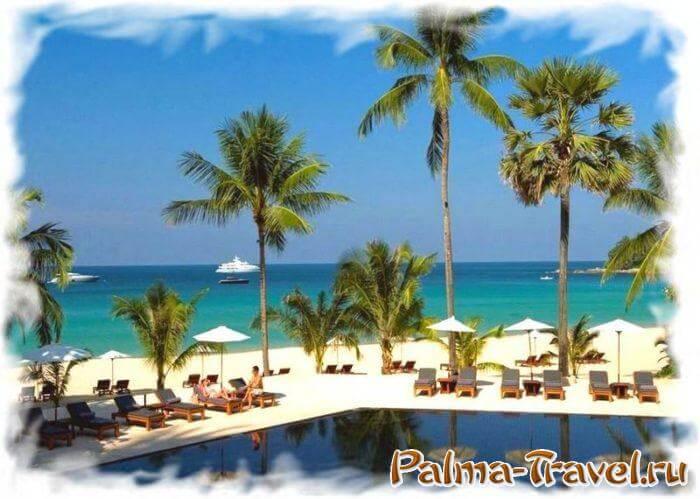 Отель Пхукета 5 звезд с собственным пляжем - The Surin Phuket