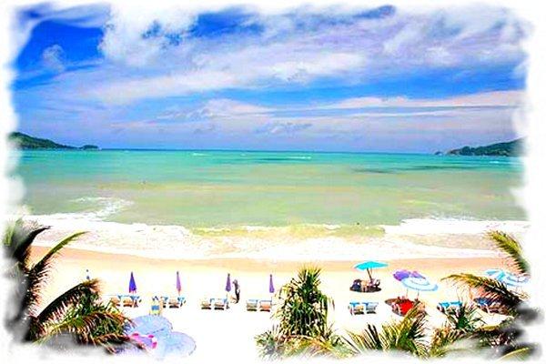 Пляж Патонг онлайн веб-камера Пхукет