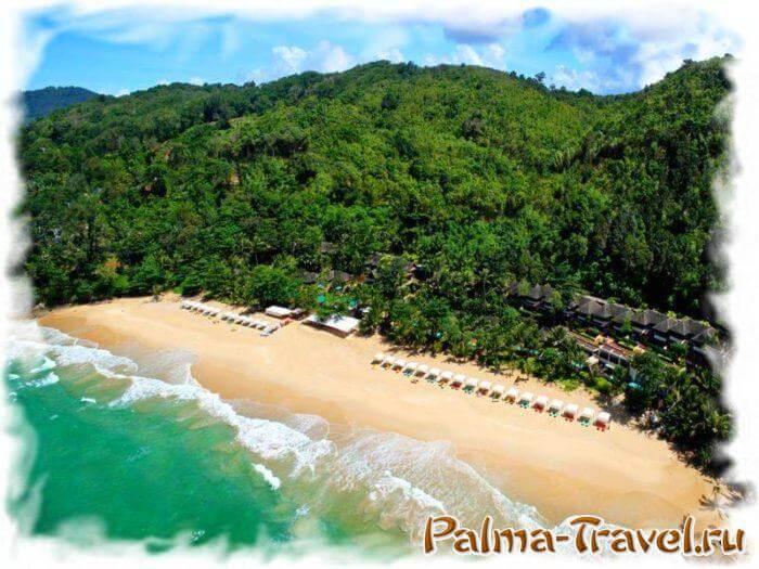 Andaman White Beach Resort - отель Пхукета 5 звезд на пляже из белого песка