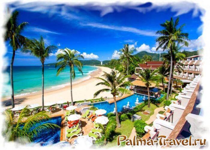 Beyond Resort Karon -единственный отель Пхукета 4 звезды на пляже Карон