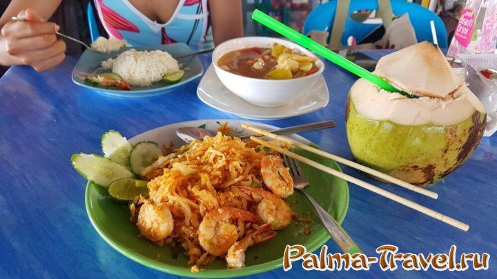 Вкусная, недорогая и полезная еда - причина полюбить Таиланд