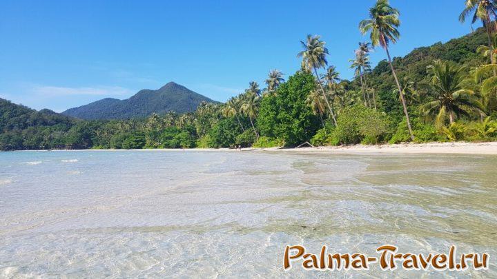 Живописные и спокойный пляжи - причина, по которой я люблю Таиланд