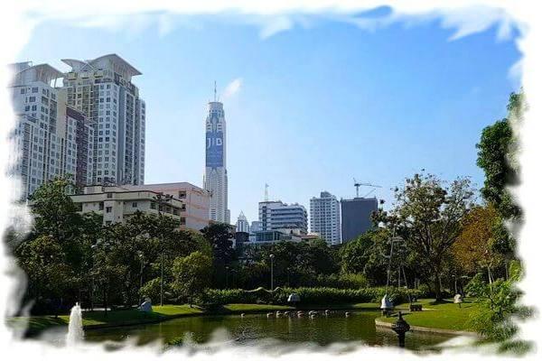Парк Сантипап в Бангкоке - обзор Satiphap park