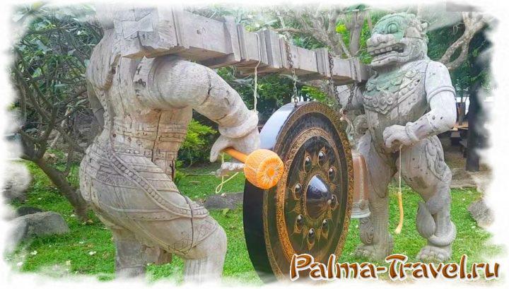 Статуи на месте исполнения желаний в Храме Истины