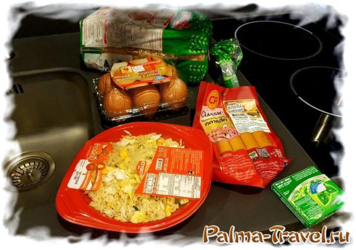 Любимое блюдо из 7Eleven - рис с крабом и яйцом. вкусно и сытно