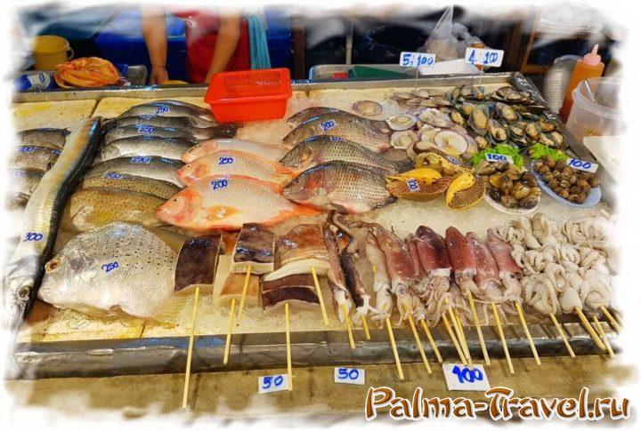 На рынках стоимость обычно указывают за всю рыбу, в ресторанах - за 100г