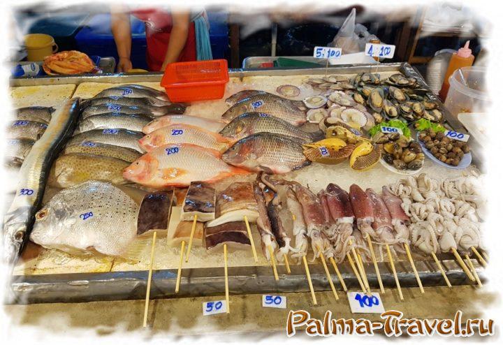 Торговаться при покупке еды в Таиланде не принято