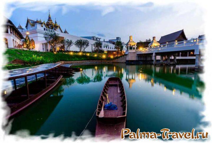 Храмы Древнего Сиама в парке Legend Siam (Pattaya)